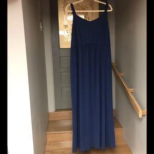 Faded glory blue maxi dress 3x 22/24